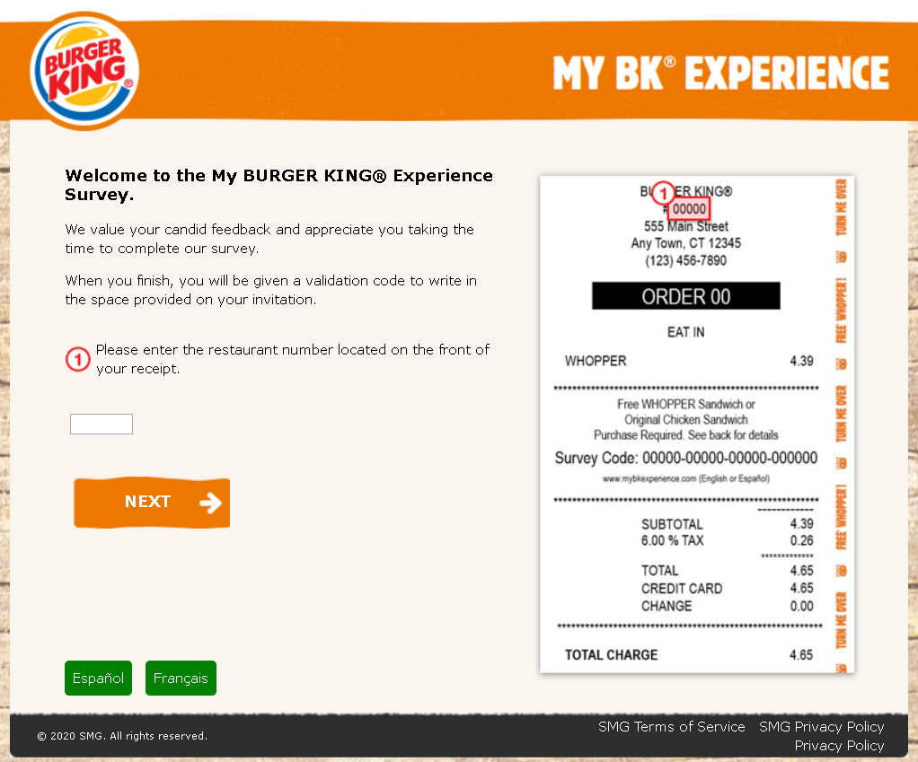 burger king experience